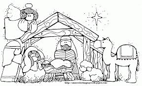 Small Picture Emejing Nativity Coloring Pages Free Printable Contemporary