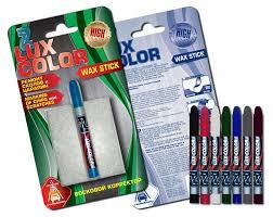 <b>Восковой корректор Lux Color</b>, красный - купить по цене 70 руб. в ...