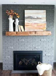 grey painted fireplace painting a red brick fireplace grey best image com dark gray painted fireplace