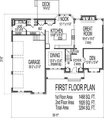 images about ideas for thee house on Pinterest   House plans    Arts and Crafts Two Story Bath House Plans Sq Ft w  Basement Atlanta