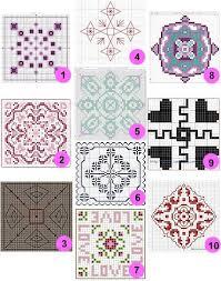Free Biscornu Charts Free Patterns And Charts Biscornu Cross Stitch