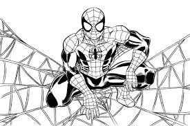 Disegni Di Spiderman Da Colorare Foto Nanopress Donna Avec Spiderman