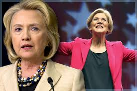 Image result for Elizabeth Warren Hillary Clinton