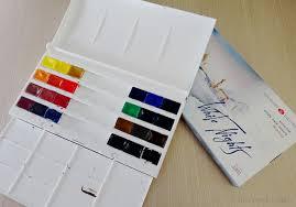 White Nights Watercolours Colour Chart Liz Steel Liz Steel