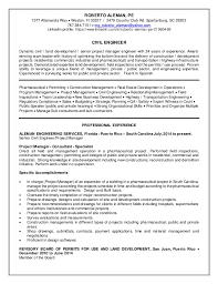 Civil Project Engineer Sample Resume