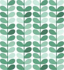 Pattern Wallpaper Custom Green Pattern Wallpaper Leaf View Escellinternational