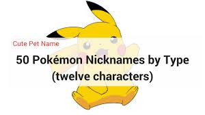dog pokemon names dunia belajar