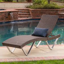 chaise lounge chair outdoor. Manuela Outdoor Multibrown Wicker Chaise Lounge Chairs (Set Of 2) \u2013 GDF Studio Chair