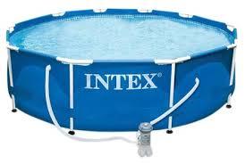 Бассейн <b>Intex Metal Frame</b> 28202/56999 — купить по выгодной ...