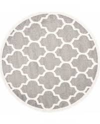 round area rug modern living room with round coffee table and grey round rug