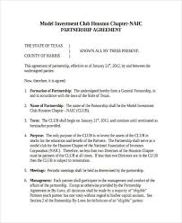 Investment Club Agreements Rome Fontanacountryinn Com