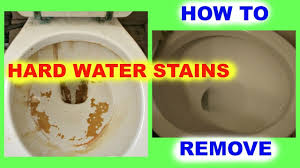 living how to remove hard water stains from toilet bowls you