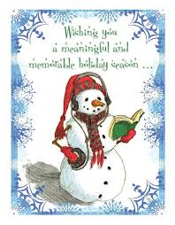 amazing christmas quotation with a snowman