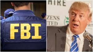 Image result for pics of trump and the FBI