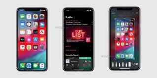 iOS 13: erste Screenshots zeigen Dark Mode auf Homescreen, Reminders und  neue App
