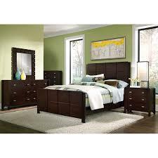 S On Bedroom Furniture Sets Mosaic King Bed Dark Brown Value City Furniture