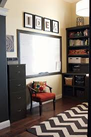Home office home office organization ideas room Decor Work From Home Office Space Idea Board House Of Rose Get Your Home Office Organized