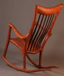 wooden rocking chair. Wooden Rocking Chair
