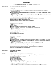resume for restaurant restaurant server resume samples velvet jobs