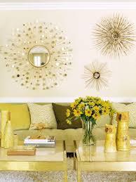 Decorative Mirrors For Living Room Gorgeous Gold Sunburst Mirror