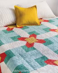 Learn How to Make Easy Log Cabin Quilts with Sewing With Nancy ... & Cabin Fever Quilts as seen on the TV Show Sewing With Nancy on PBS with  Nancy Adamdwight.com