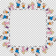 family cartoon frame png clipart