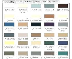 Quikrete Stucco And Mortar Color Chart Quikrete Color Chart Leaseadviceservice Co