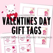 Download and print these valentine's day gift tags today! Free Printable Valentines Day Gift Tags Cute Freebies For You