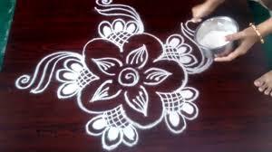 Telugu Muggulu Designs With Dots Easy Rangoli Designs Ll Easy Muggulu Without Dots Ll Telugu