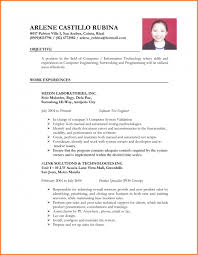 Resume Sample For Ojt Accounting Technology Students Sample Resume For Ojt Samples Business Administration Format 12