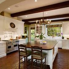 a bright white kitchen with a hint of mexican culture note to