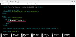 Erstellen einer statischen HTML-Web-App: Azure App Service ...