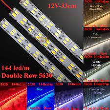 Smarstar 12V 0.33 M 48led Đôi Hàng 5630 Cứng Nhắc Dây Đèn LED Ánh Sáng Cứng ĐÈN  LED Thanh 33 cm Dây ĐÈN LED chiếu Sáng dạng thanh Nhà Khách Sạn chiếu