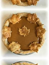 pumpkin pie with sweetened condensed