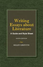 writing essays about literature th edition cengage writing essays about literature 9th edition