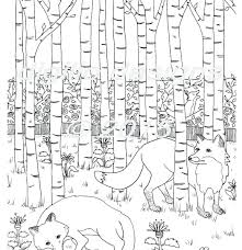 Forest Coloring Pages Printable Ftwapme