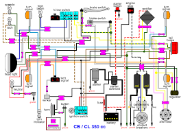 cb350 wiring harness wiring diagram and hernes wiring harnesses and charging system parts electrical s