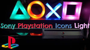 Playstation Light Paladone Sony Playstation Icons Light Unboxing Review