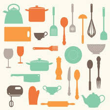 kitchen utensils art. Kitchen Baking Utensils Clip Art Clipart Set Personal And For U