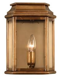 wc2 solid brass outdoor wall lantern