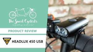Topeak Lights Review Topeak Headlux 450 Usb A Compact Light For Urban Riding