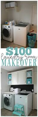 Laundry Room Design On A Budget Laundry Room Makeover For Under 100 Laundry Room Remodel