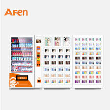 Book Vending Machine For Sale Custom China Afen Large Item Acrylic Condom Book Credit Card Vending