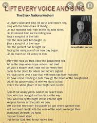 Play Black National Anthem At All Games ...