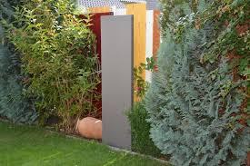 Stele Sichtschutz Schmal 180 X 20 X 4 Cm Aus Metall