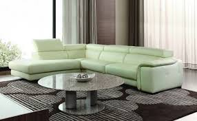 Marvelous Contemporary Sectional Leather Sofa Home Furniture