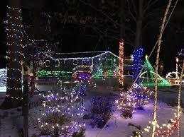outdoor xmas lighting. Home Of The Nowak Family, 3317 State 73 N., Wisconsin Outdoor Xmas Lighting
