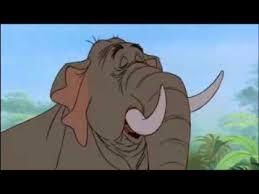the jungle book elephant trunk sqeezed