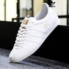 adidas gazelle og leather white