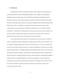 field essay